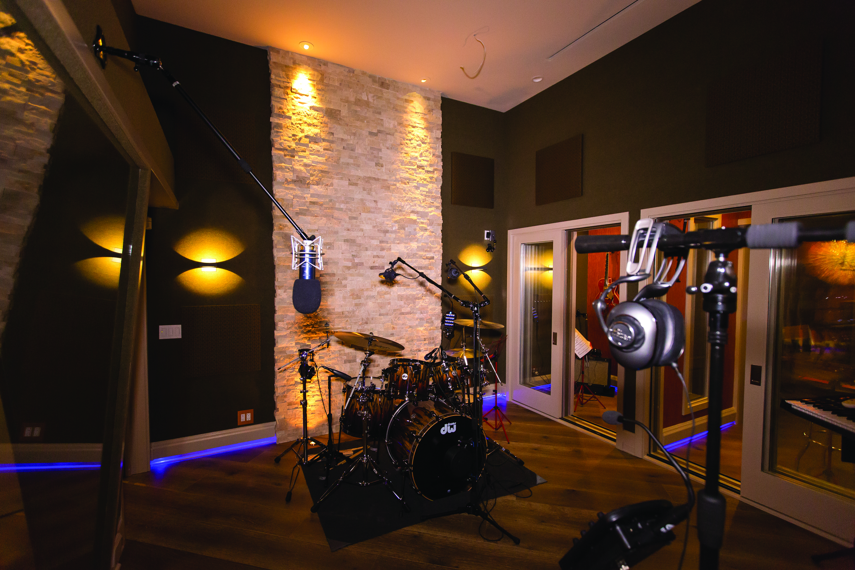 Ray Parker Jr.'s Studio