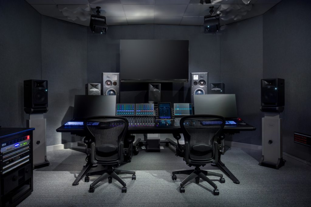 Icon Atmos Mixing Room