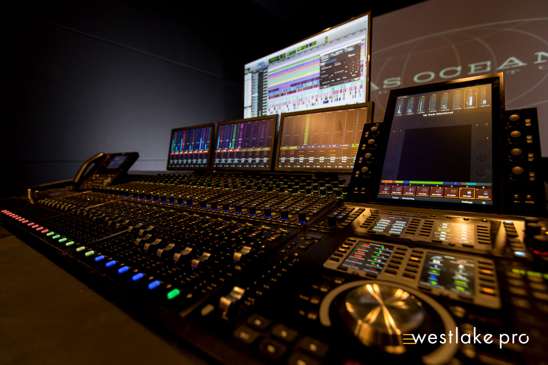 Avid S6 at Atlas Oceanic