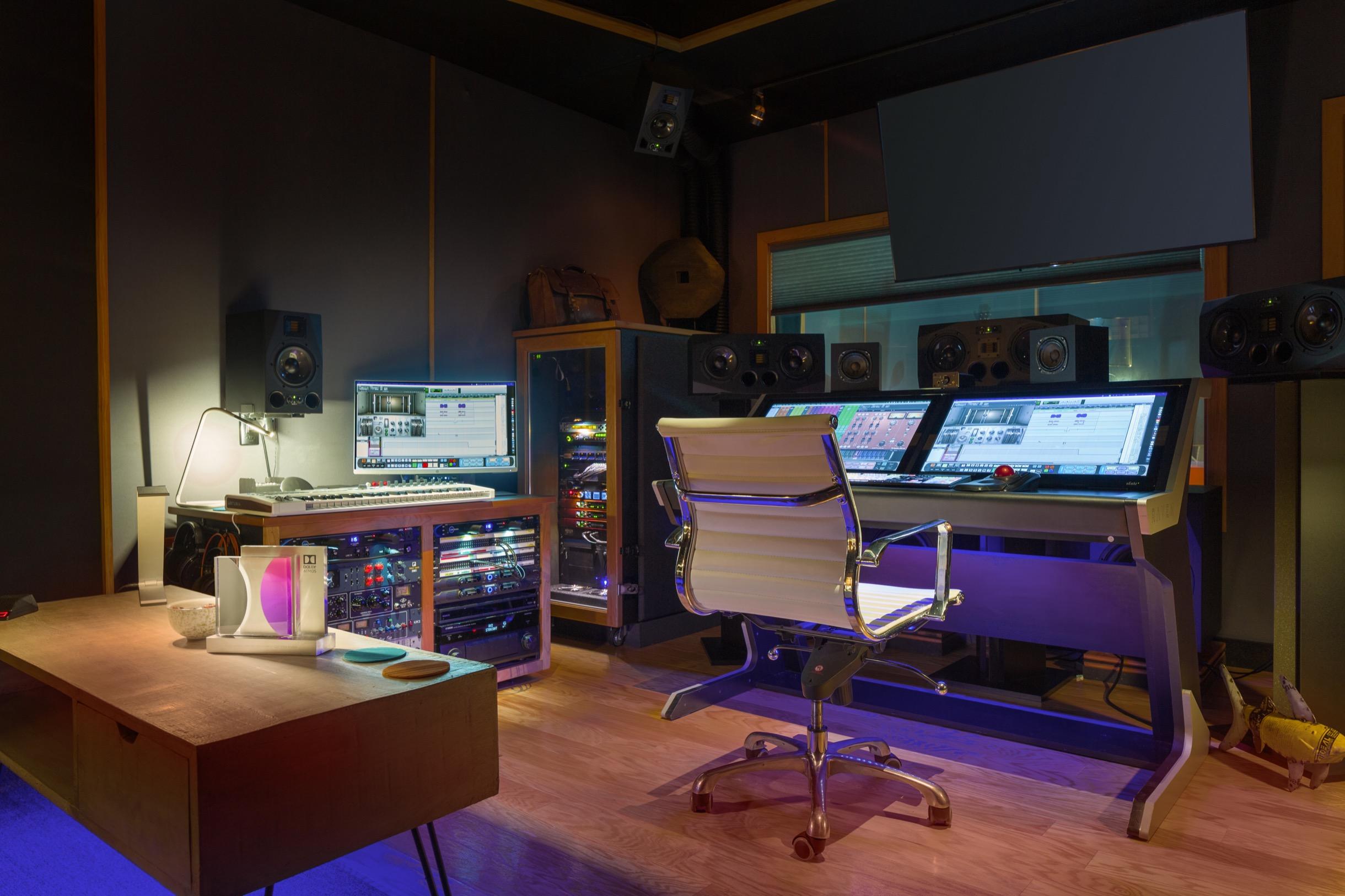 Henszey Sound Control Room