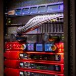 Studio Rack with Focusrite RedNet