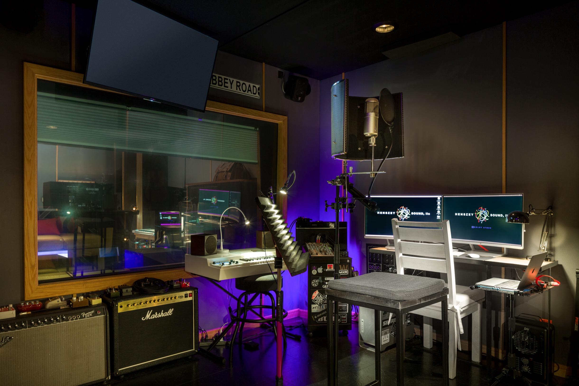 Henszey Sound Live Room