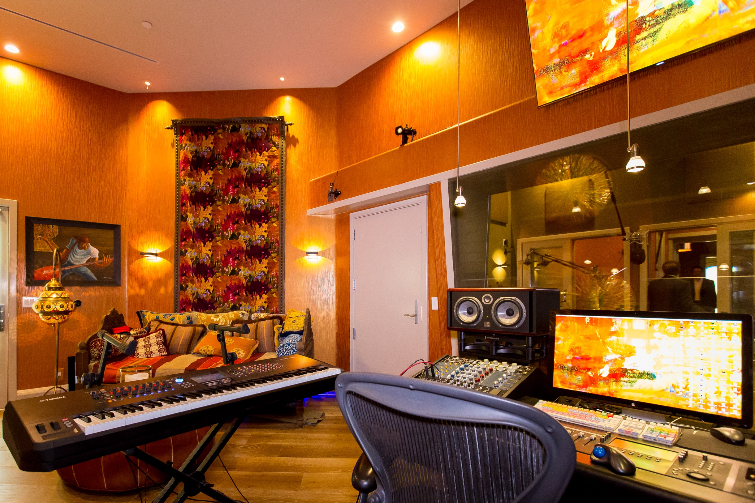 Ray Parker Jr.'s Studio